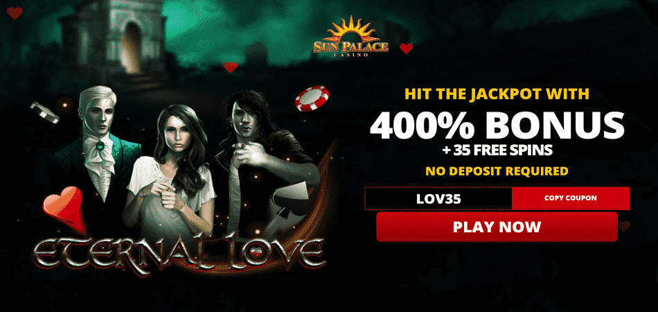 eternal love valentine's offer - sun palace