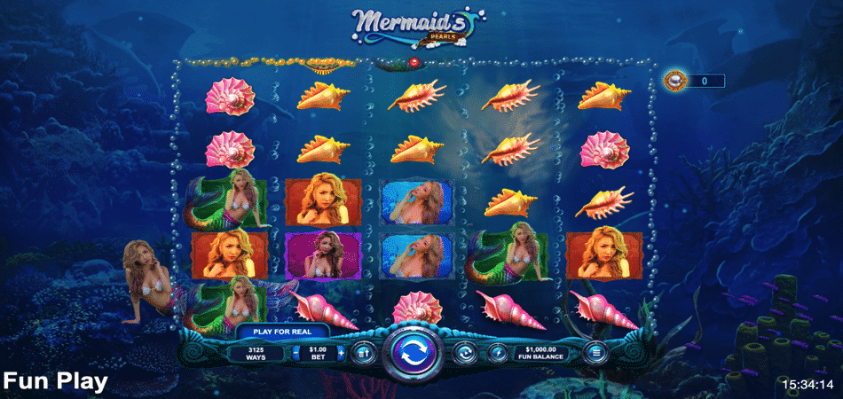 mermaid's pearls rtg