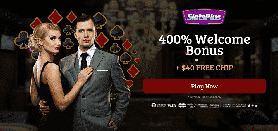 slots plus new player offer