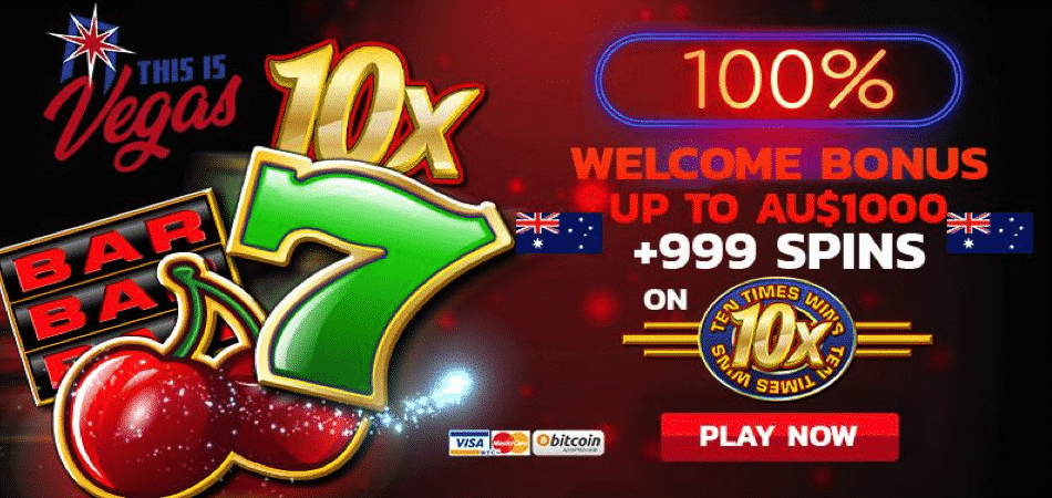 10 tiems wins promo code AU/NZ version - this is vegas