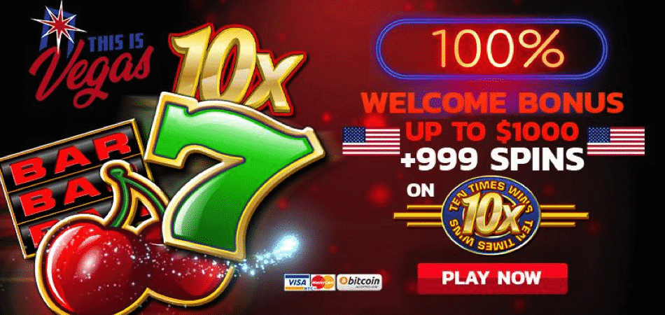 ten times wins promo code - this is vegas casino