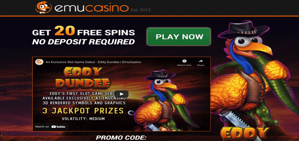 emu casino no deposit bonus exclusive