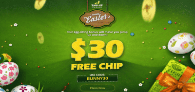 two up casino easter bonus