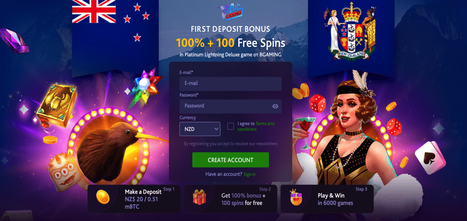 100 free spins new zealand offer - 7bit casino