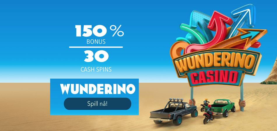 30 cash spins norway - wunderino