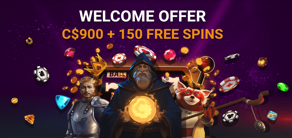 C$900 + 150 Free spins at iLucki Casino