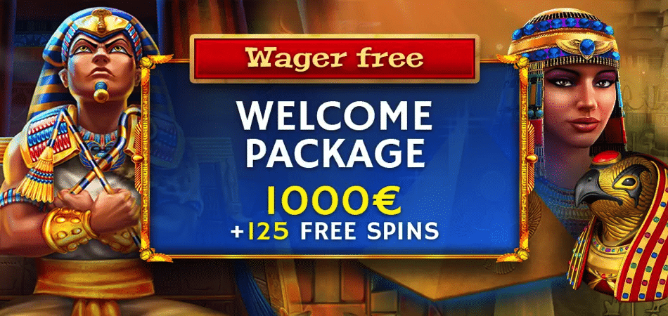 125 free spins at horus casino