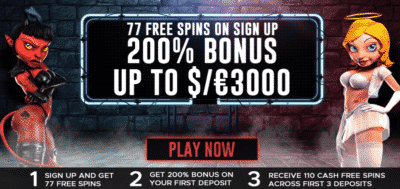 good girl bad girl free spins extra vegas