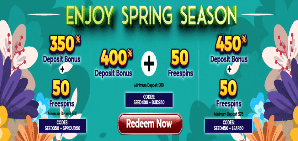 spring season slots promo codes fun club casino