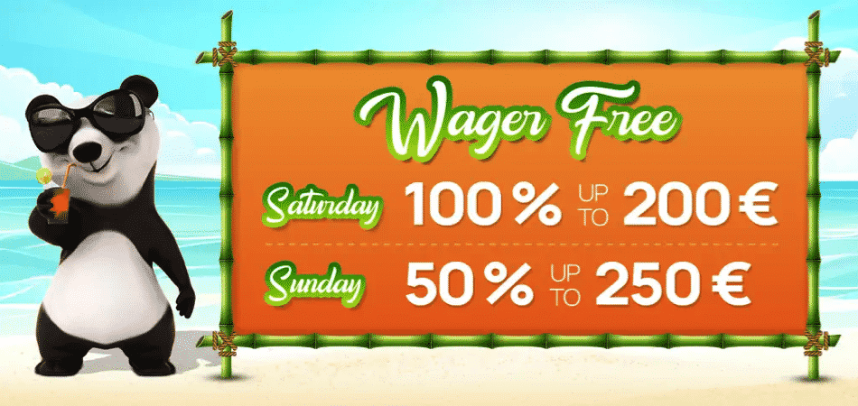 weekend super deposit bonus at fortune panda casino