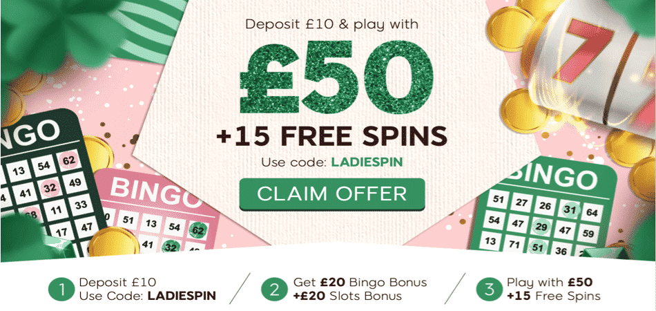 15 free spins promo code 888ladies