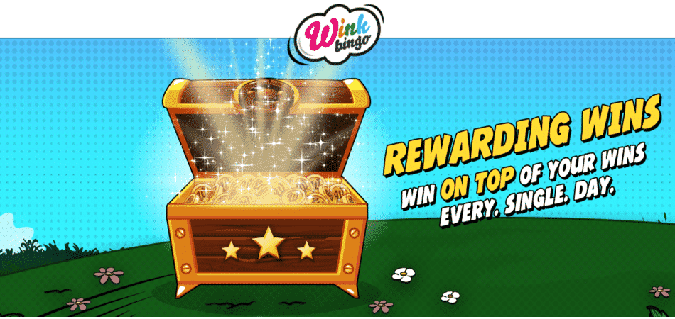 rewarding wins promotion - winkbingo