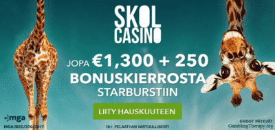 skol casino finnish bonus