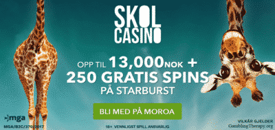 skol casino norwegian bonus
