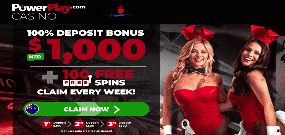 100 free spins NZ - Power Play