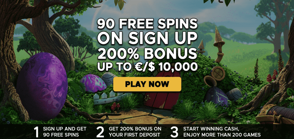 90 spins on signup - extra vegas